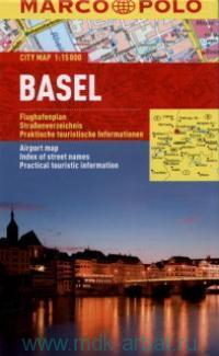 Basel = Bale = Basilea : City Map : М 1:15 000