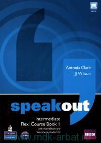 Speakout : Intermediate : Flexi Course Book 1 with ActiveBook and Workbook