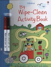 Usborne Big Wipe-Clean Activity Book