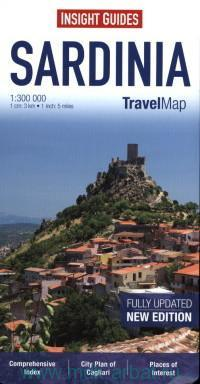 Sardinia : Travel Map : M 1:300 000