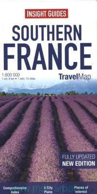 Southern France : Travel Map : New Edition : M 1:800 000
