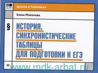История : синхронистические таблицы для подготовки к ЕГЭ