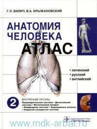 Атлас анатомии человека. В 3 т. Т.2