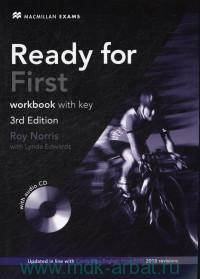 Ready for First : Workbook with Key : Updated in line with Cambridge English: First (FCE) 2015 revision