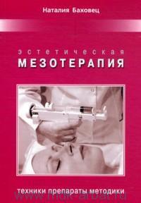 Эстетическая мезотерапия : техники, препараты, методики