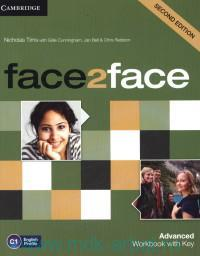 Face2Face : Advanced : Workbook with Key C1 : English Profile
