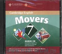 Cambridge English : Movers 7 : Audio CD