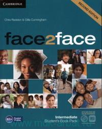 Face2Face : Intermediate B1+ : Student`s Book Pack
