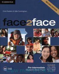 Face2Face : Pre-Intermediate B1 : Student`s Book Pack + Online Workbook