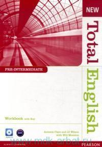 New Total English : Pre-Intermediate : A2-B1 : Workbook with Key