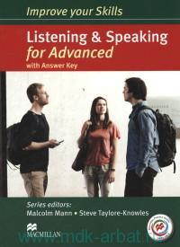 Listening & Speaking for Advanced : with Answer Key and Macmillan Practice Online