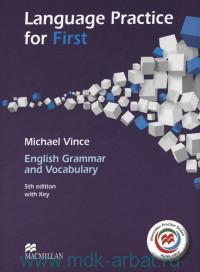 Language Practice for First : English Grammar and Vocabulary B2 : with Key and Macmillan Practice Online