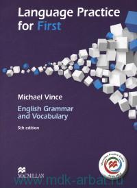 Language Practice for First : English Grammar and Vocabulary : Macmillan Practice Online