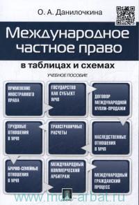 Международное частное право в таблицах и схемах : учебное пособие
