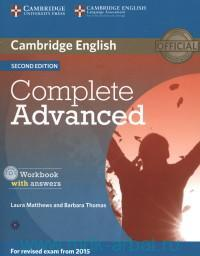 Cambridge English : Complete Advanced C1 : Workbook with Answers : for Revised Exam from 2015