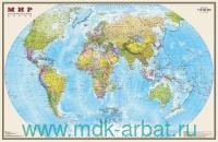 Мир : политическая карта (с Крымом) : М 1:15 000 000 : артикул 745