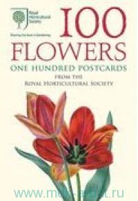 100 Flowers : One Hundred Postcards from the Royal Horticultural Society
