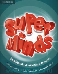 Super Minds 3 : Workbook with Online Resources