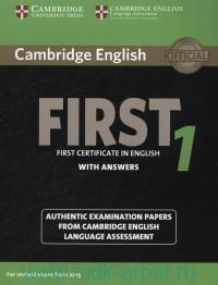 Cambridge English First 1 : First Certificate in English : With Answers : For Revised Exam from 2015