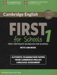 Cambridge English First for School 1 : First Certificate in English : With Answers : For Revised Exam from 2015
