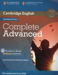 Cambridge English Complete Advanced : Student's Book Without Answers : For Revised Exam From 2015