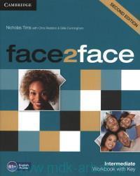 Face2Face : Intermediate : Workbook with Key B1+