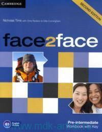 Face2Face : Pre-Intermediate B1: Workbook with Key