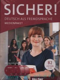 Sicher! : Deutsch als Fremdsprache : Niveau B2 Lektion 1-12 : Medienpaket : CDs Und DVD zum Kursbuch