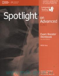 Spotlight on Advanced (CAE) : Exam Booster Workbook : With Key