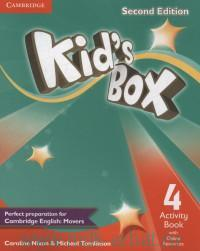 Kid's Box 4 : Activity Book with Online Resources