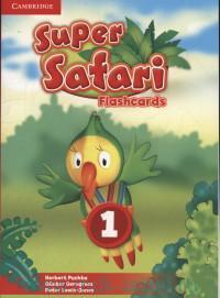 Super Safari 1 : Flashcards