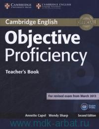 Cambridge English Objective Proficiency : Teacher's Book : For Revised Exam From March 2013 : C2 : Online Resources