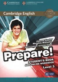 Cambridge English Prepare! : Level 3. A2 : Student's Book and Online Workbook