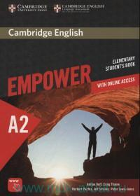 Cambridge English Empower : Elementary. A2 : Student's Book : With Online Access
