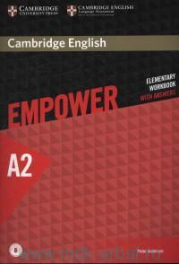 Cambridge English Empower : Elementary. A2 : Workbook Book : With Answers : With Online Audio