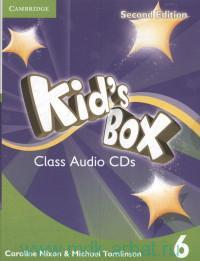 Kid's Box 6 : Class Audio CDs