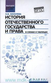 История отечественного государства и права в схемах и таблицах (соответствует ФГОС)