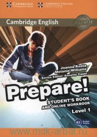 Cambridge English Prepare! Level 1. Student's Book and Online Workbook : A1