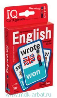 Английские неправильные глаголы. Play and say. Level Easy. Уровень 1 : 100 карточек