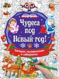 Чудеса под Новый Год!: загадки, головоломки и лабиринты