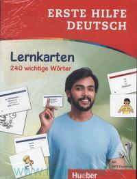 Erste Hilfe Deutsch : Lernkarten : 240 Wichtige Worter : Mit MP3-Download
