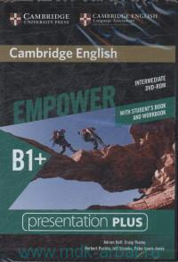 Cambridge English Empower : Intermediate : B1+ : With Studen's Book and Workbook : Presentation Plus : DVD-Rom