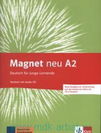 Magnet Neu A2 : Testheft mit  : Deutsch fur junge Lernende