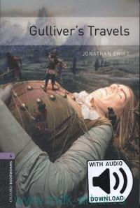 Gulliver's Travels : Stage 4 (1400 headwoords) : Retold by C. West : With Audio Download