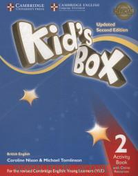 Kid's Box 2 : Activity Book with Online Resources : British English