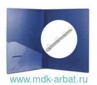 Папка А4 4 кольца MEGAPOLIS  синяя : Арт.14514 (ТМ Erich Krause)