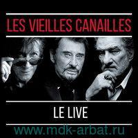 Dutronc Jacques / Hallydy Johnny / Mitchell Eddy Les Vieilles Canailles: Le Live (3LP) : Виниловая пластинка : Арт.19-188-2176