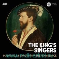 The King'S Singers. Madrigals & Songs From The Renaissance (8CD) : Арт.3-188-1270
