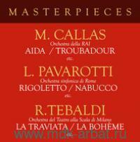 Masterpieces With Pavarotti/Сallas/Tebaldi (CD) : Арт.3-188-1150