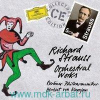 Richard Strauss/ Orchestral Works (5CD) : Арт.3-188-1895